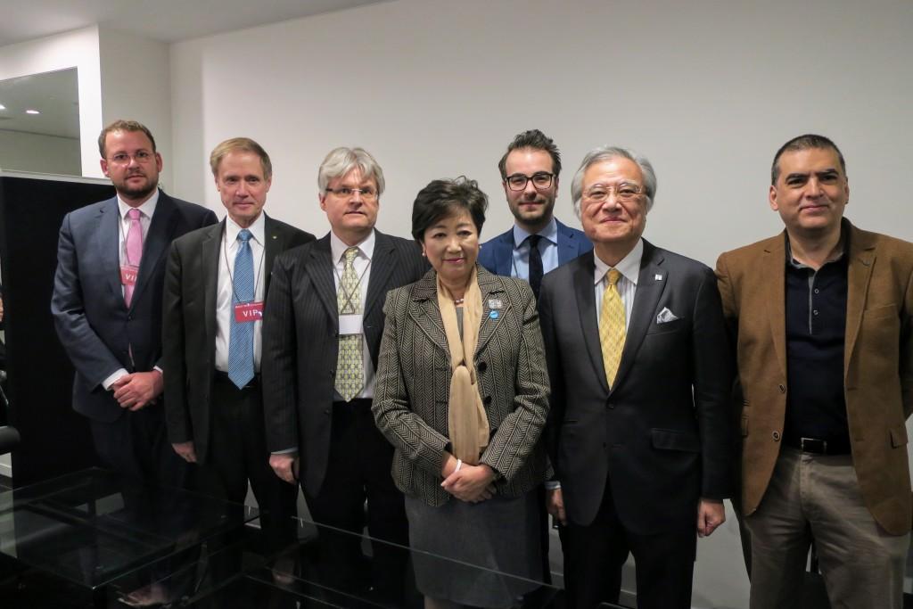 Meeting with Tokyo Governor Koike